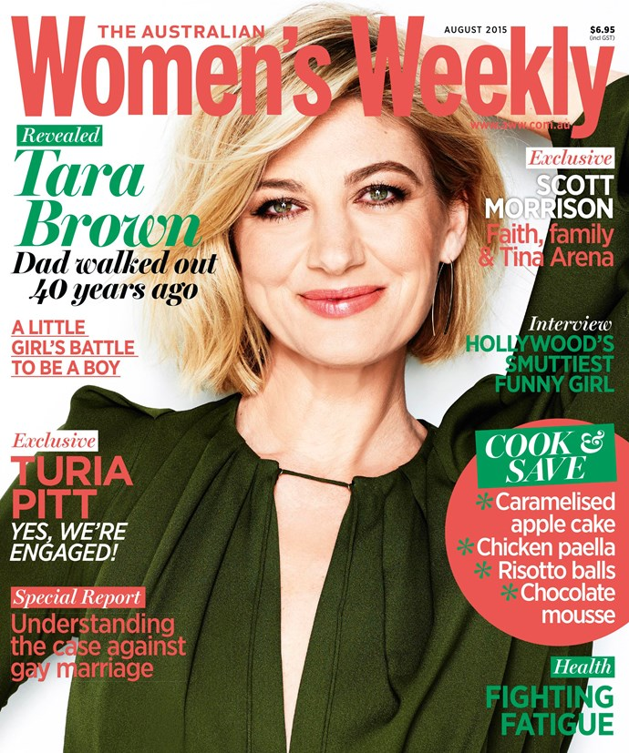 The August issue of The Australian Women's Weekly is on sale this Thursday