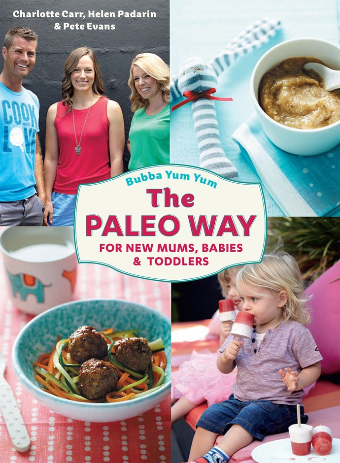 Pete Evans, who once prided himself on his pizza recipes, is now endorsing Paleo for babies.
