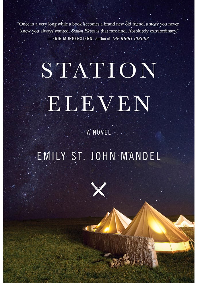 **Station Eleven** by Emily St John Mandel In this hopeful post-apocalyptic novel we follow a troupe of travelling players in a world in which life is fragile, random and irrational.