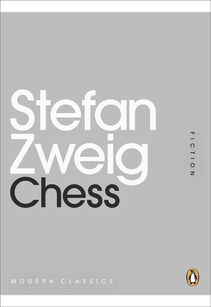 *Chess*, or *The Royal Game*, by Stefan Zweig, is the definition of an unsung classic. Zweig's last published work before his tragic death by suicide in 1942, *Chess* revolves around a genius chess master who finally finds his match in mentally anguished monarchist aboard a cruise liner.