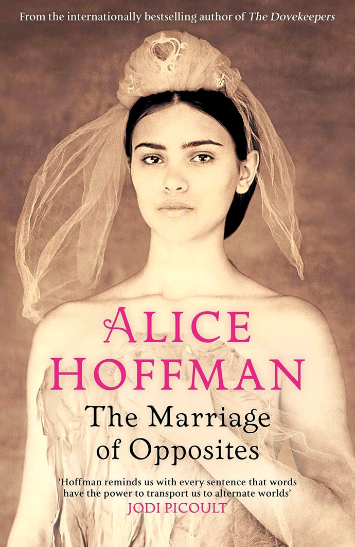 "**The Marriage of Opposites, by Alice Hoffman, Simon & Schuster.** Extraordinary storyteller Hoffman (The Museum of Extraordinary Things) rocks and floats the boat like no other when it comes to the popular literary genre of historically based macabre customs, such as exhibiting of human freaks, and the quiet movement of other-world mystics among us. In this factually based story of the birth of painter Camille Pissarro on a Caribbean island, she paints a canvas that is rich with 19th century religious superstition and persecution. Rachel Pomié longs to live in Paris, the maps of which she traces in her merchant father's study. The Jewish family fled to St Thomas, where her vindictive mother Sara still mourns a lost son. ""Sisters"" Rachel and Jestine (dark-skinned daughter of cook Adelle) ""dress in each other's clothes … dream each other's dreams."" At 14 Rachel is married to 44-year-old widower Isaac, but by her 30th birthday she has been bereaved three times. But Adelle portends that Rachel will find love and marry again. And when 22-year-old Abraham Gabriel Frederic Pizzarro disembarks at St Thomas, ""something had come to her from Paris at last""."