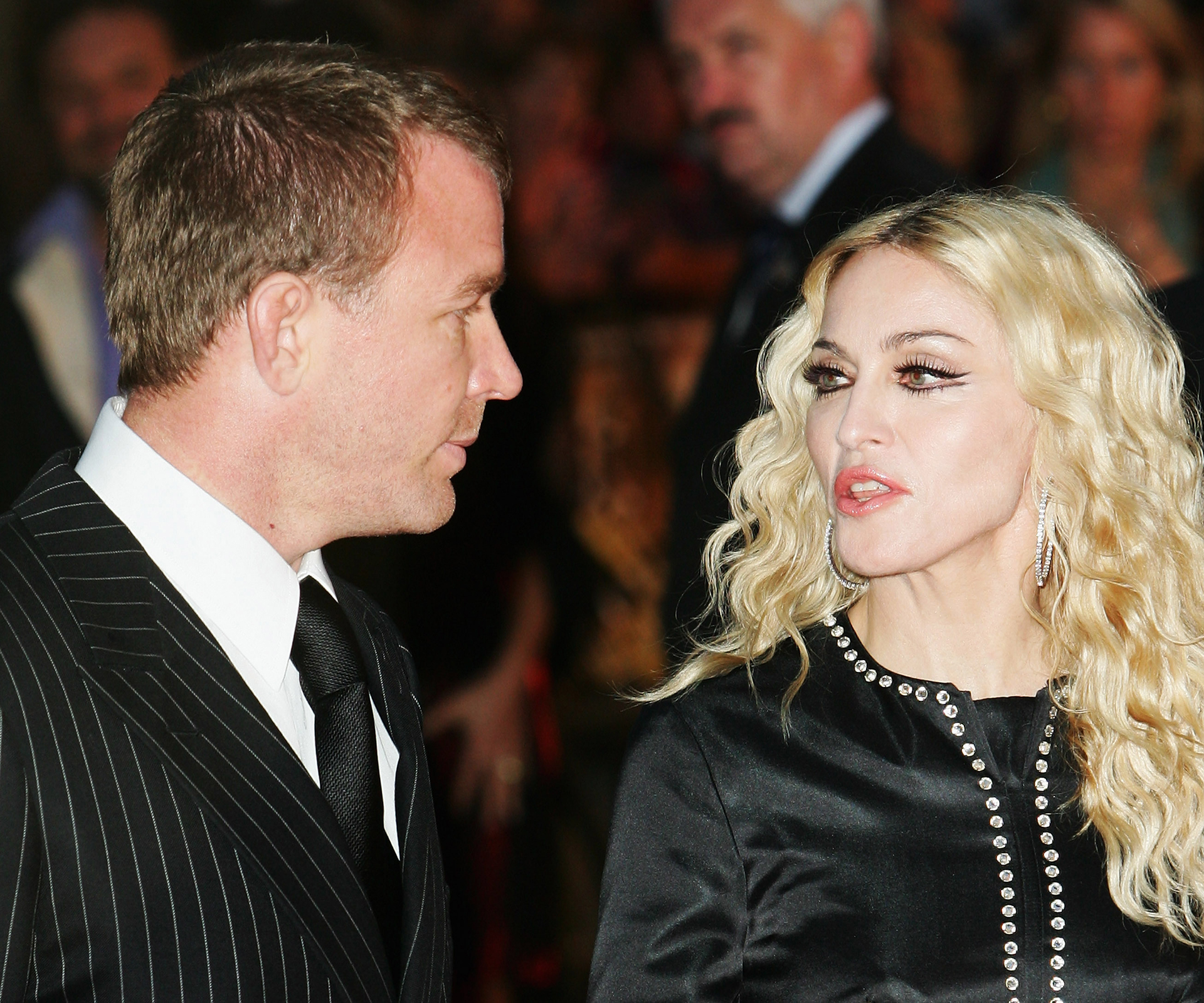 Madonna shocks fans with colourful on-stage rant over ex-husband
