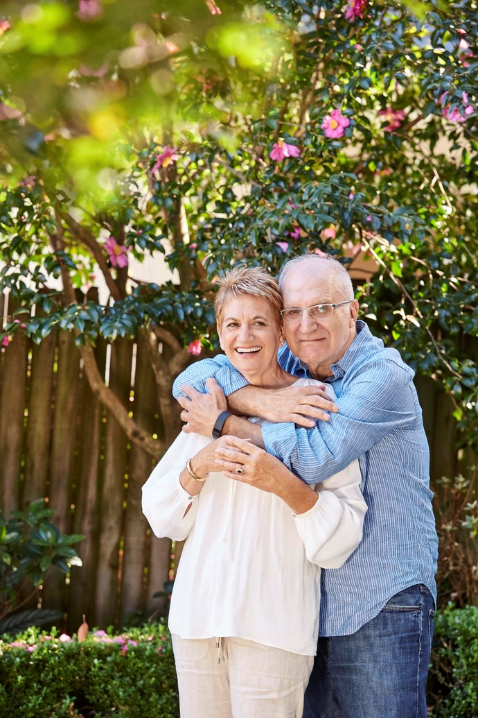 While Fay and Jim have put much of their life on hold, both insist they're happy. PHOTO: Alana Landsberry.