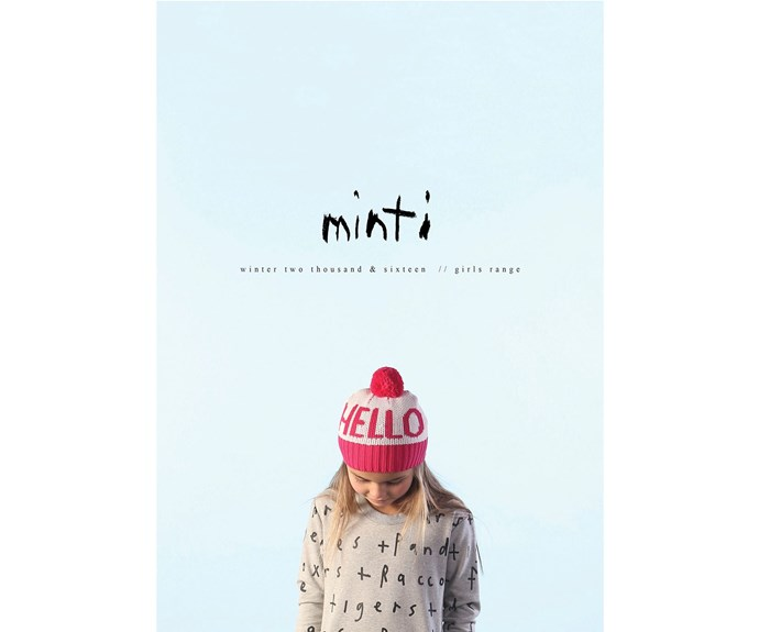 """*Minti* Designed in Melbourne, [Minti](http://www.iloveminti.com/