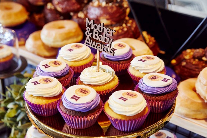 Cute cupcakes featured the Awards logo to add to the celebrations.