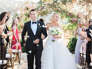Anna Camp Skylar Astin Wedding