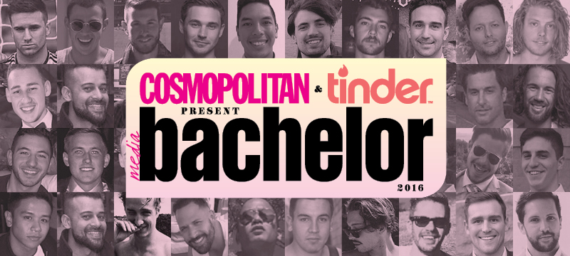 Cosmopolitan and Tinder Media Bachelor of the Year