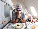 Youtuber gets upgraded to first class and documents the entire thing for us plebs