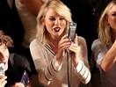 Taylor Swift sings along to Calvin Harris' song at New York Fashion Week