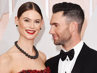 Adam Levine and Behati Prinsloo share first photo of daughter