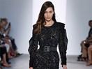 Bella Hadid stacked it on the runway at Fashion Week