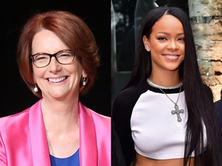 PSA: Rihanna and Julia Gillard were spotted together over the weekend