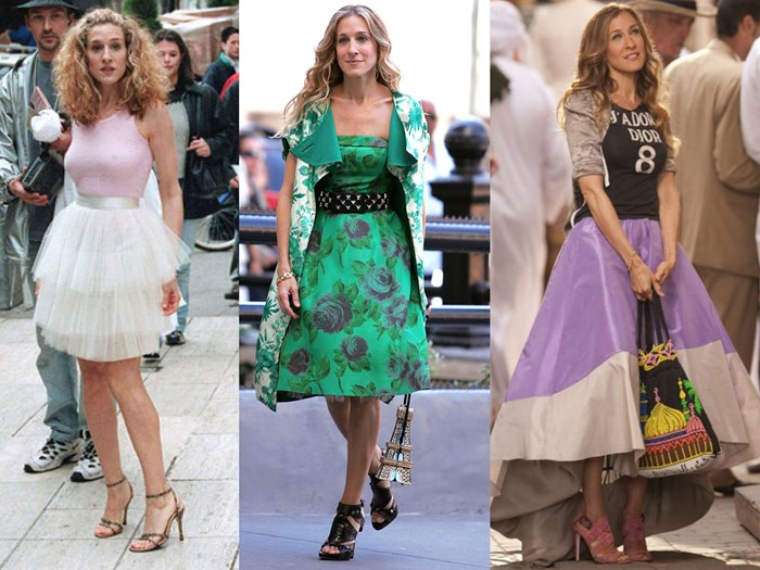 How to recreate Carrie's eight most iconic 'Sex And The City' looks