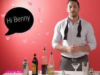 WATCH: Here's a video of a hot guy making an espresso martini