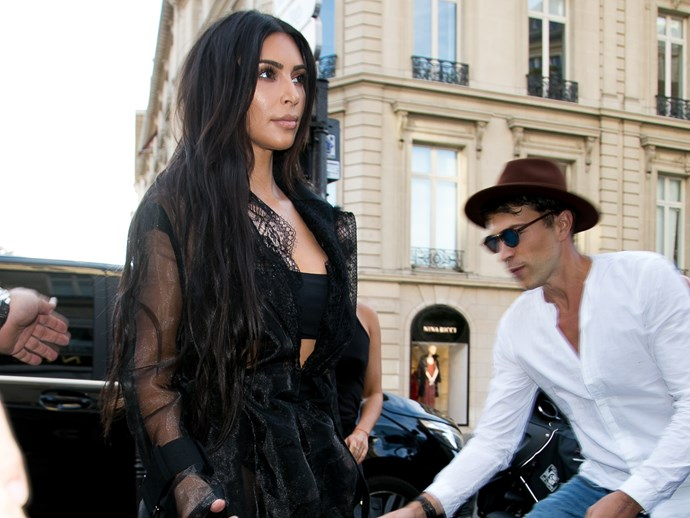 Kim Kardashian was attacked on the street in Paris on Wednesday.