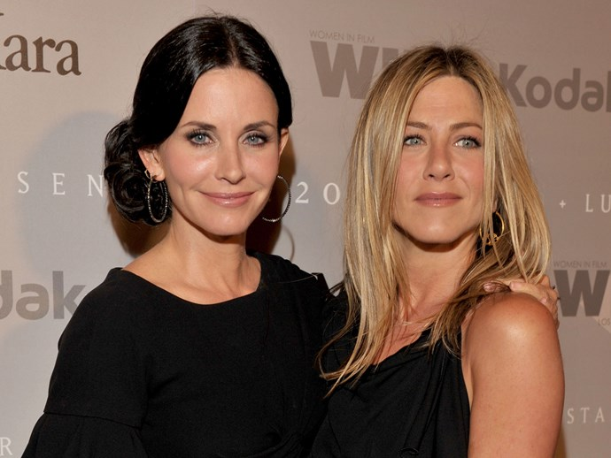 Courtney Cox comments on Jennifer Aniston's involvement in the Brangelina drama.