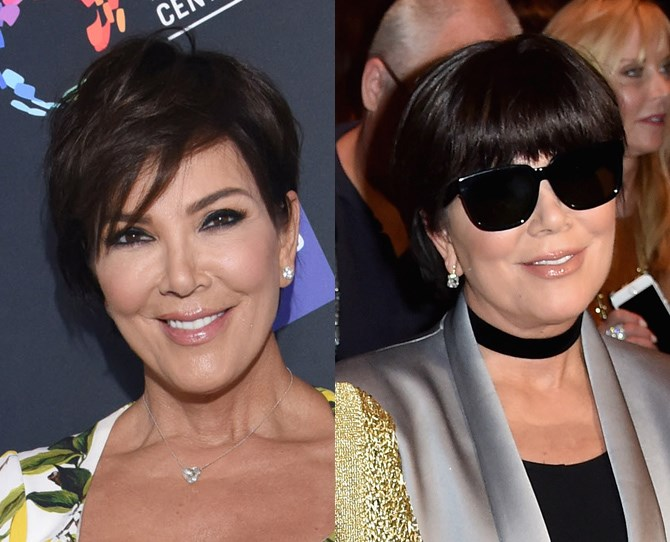 Kween Kris Jenner stepped out at Paris Fashion Week yesterday with a chic new look. Sitting FROW at the Balmain show (obvs), she showed off a brand new block fringe which is frankly massive news since she hasn't changed her hair in, oh I dunno, FOREVER. Loving your work, Mama K.