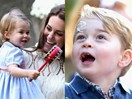 12 unbearably cute moments of Princess Charlotte and Prince George at a children's party