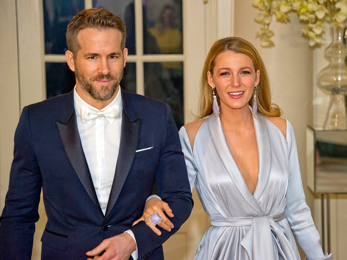 Blake Lively gives birth to her second child.