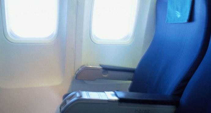 empty seat plane