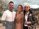 First look at Dianna Agron's Moroccan wedding