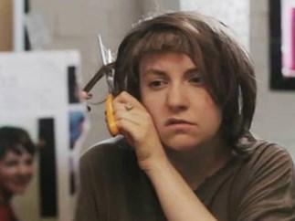 Lena Dunham girls haircut