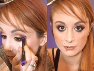 Vamp Stamp cat eye stamp eyeliner