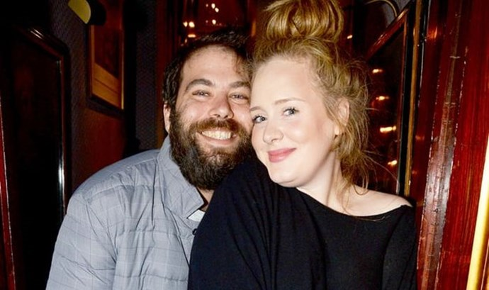 Adele's partner Simon Konecki made a grand gesture for their five-year anniversary.