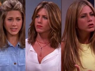 Hairstyle's Rachel had in Friends
