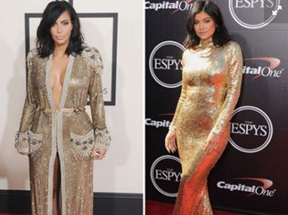 Times Kim and Kylie basically wore the same outfit