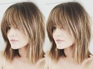 How to get Lucy Hale's faux bangs at home