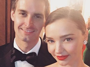 What Evan Spiegel said when he proposed to Miranda Kerr