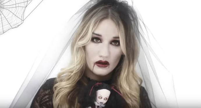 HOW TO: Vampire bride makeup tutorial