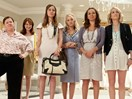 This bride let her 15 bridesmaids choose their own dresses and the result is amazing