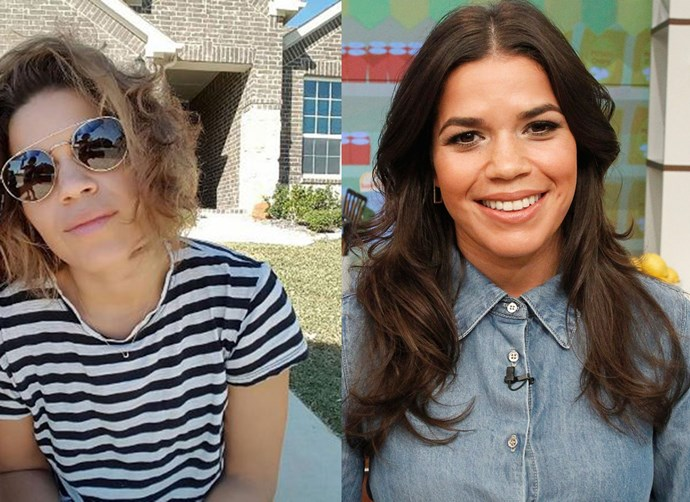 Ever since we were introduced to America Ferrera as *Ugly Betty*, she's had long, brown locks. But recently, the actress chopped her hair off into a blonde bob. We adore!