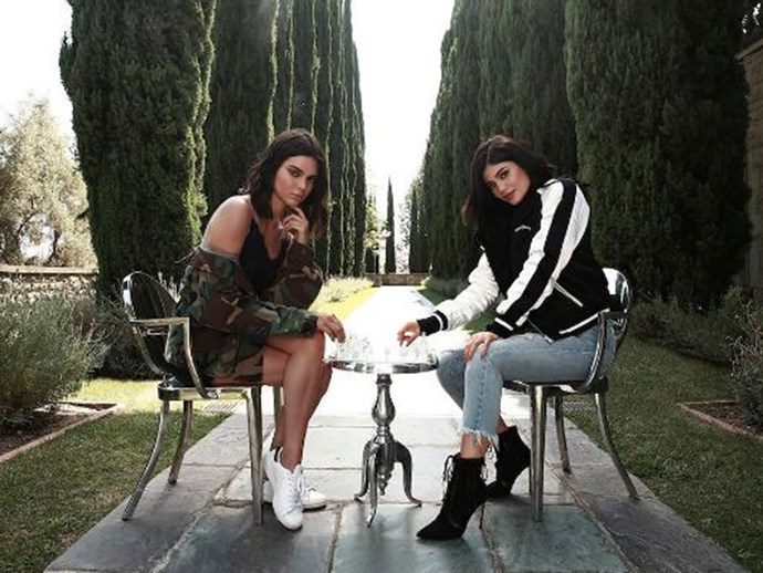 The Kendall + Kylie collection is under fire for knocking off Chanel