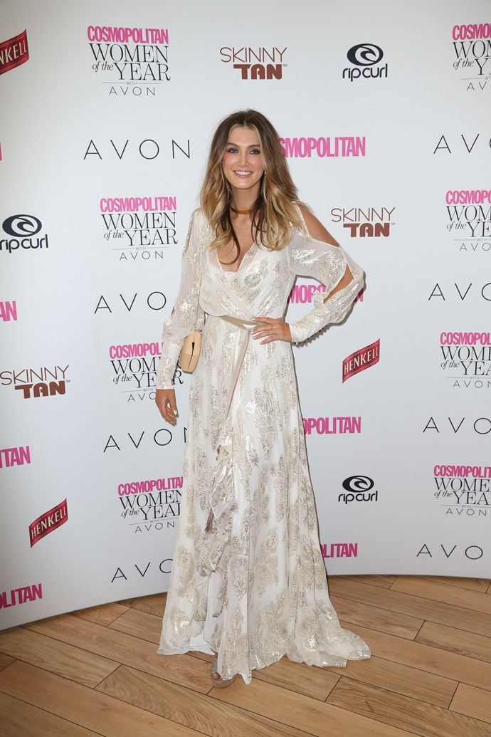 **Cosmopolitan Hall of Fame inductee, Delta Goodrem**