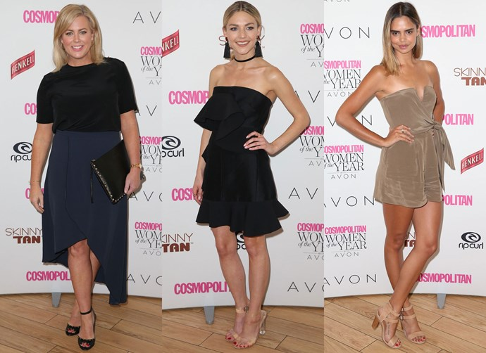 All of the red carpet looks from the 2016 Cosmopolitan Women of the Year Awards!