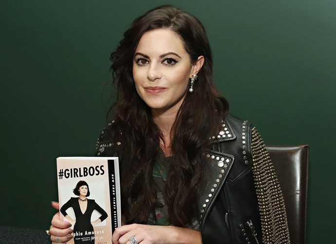 Sophia Amoruso fights back tears after confirming Nasty Gal bankruptcy