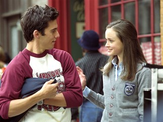 Gilmore Girls Rory and Jess.