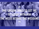 How 12 bridesmaids knew the marriage was doomed.