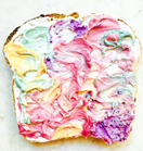 So, unicorn toast exists and it's not even bad for you