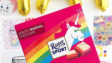 Unicorn chocolate exists and ZOMG we need it now
