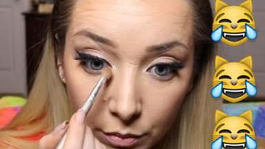 Jenna Marbles' boyfriend did the voiceovers for her makeup tutorials and LOL you may die of laughter