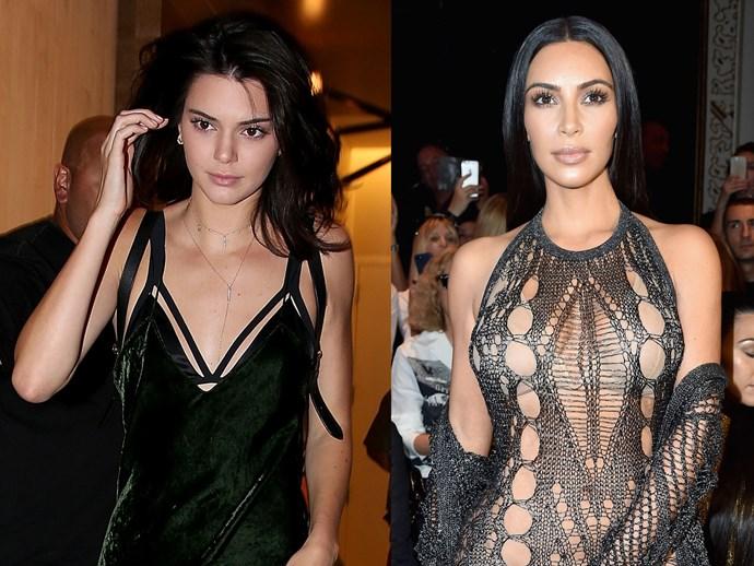 Kendall Jenner looks like Kim Kardashian