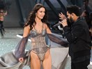 Bella Hadid relives THAT amazing moment with The Weeknd in the Victoria's Secret Parade