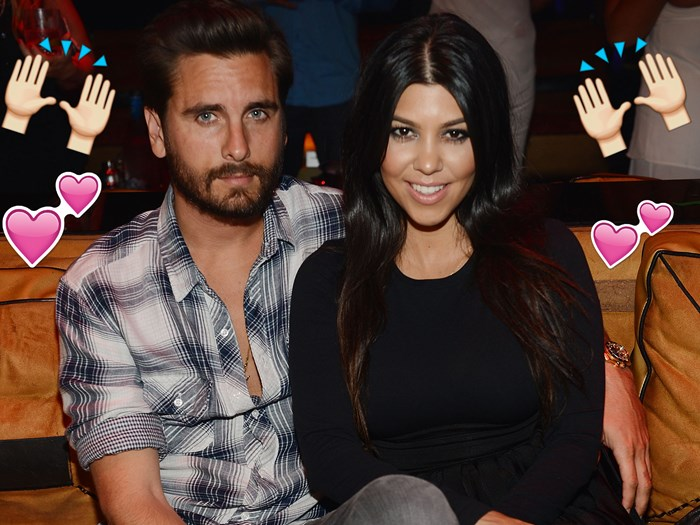IMPORTANT: Kourtney Kardashian and Scott Disick are 100% back together!