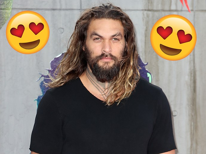 This footage of Jason Momoa throwing an axe, then destroying it is making us ~feel~ things