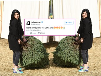 Kylie Jenner's fans are not here for her Xmas spirit