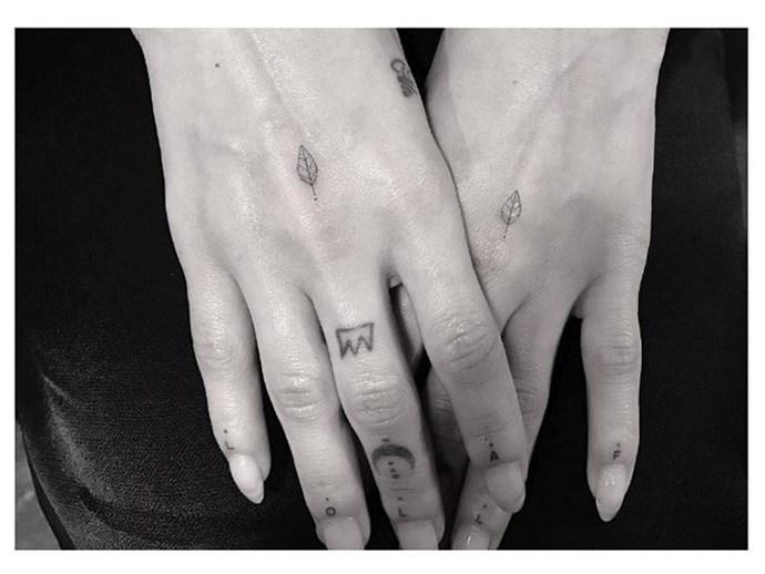 Cute celeb tattoos